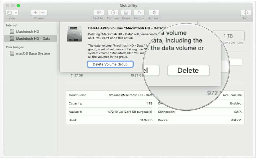Delete Mac