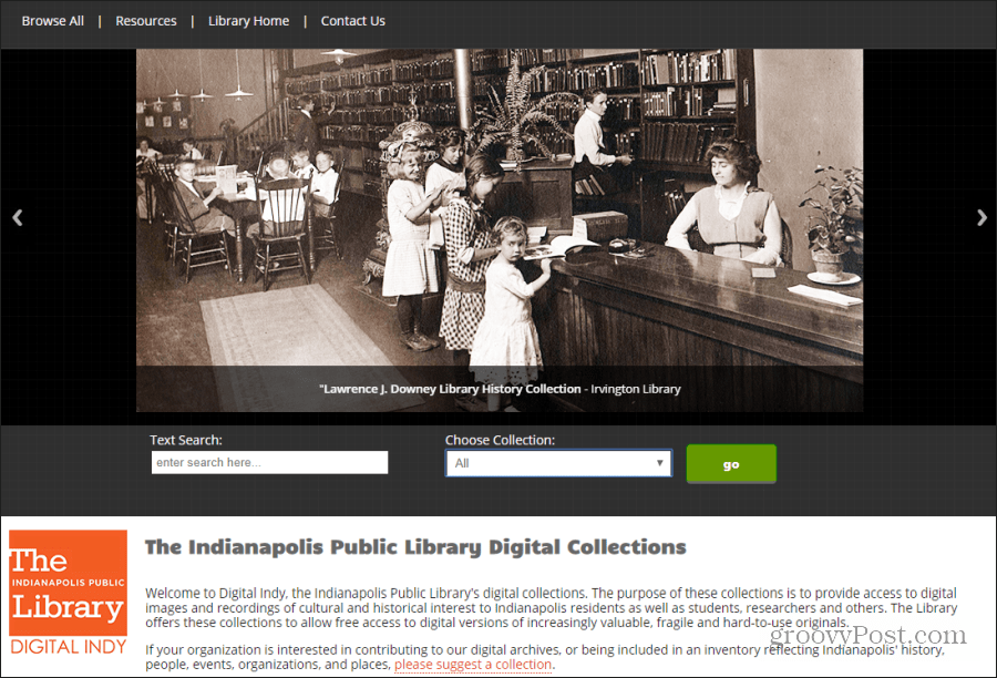 indianapolis digital archives