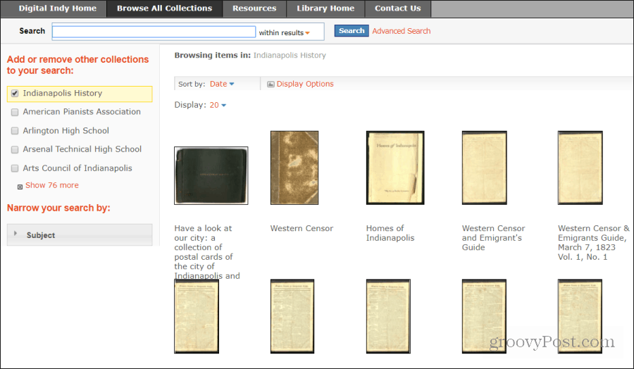 digital historic documents