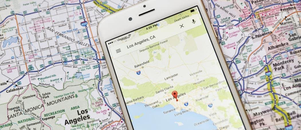 Cómo actualizar tu perfil público de Google Maps en Android