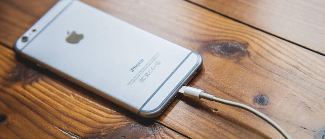 Cómo activar o desactivar la carga optimizada de la batería en el iOS 13