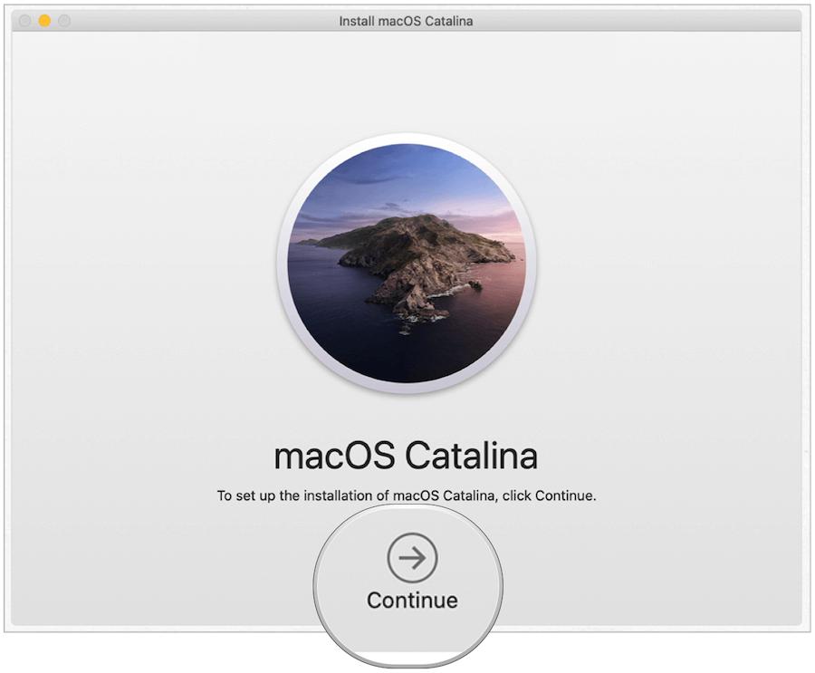 macOS reinstalled