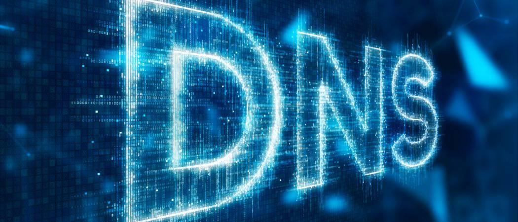Cómo cambiar la configuración del DNS en Windows 10