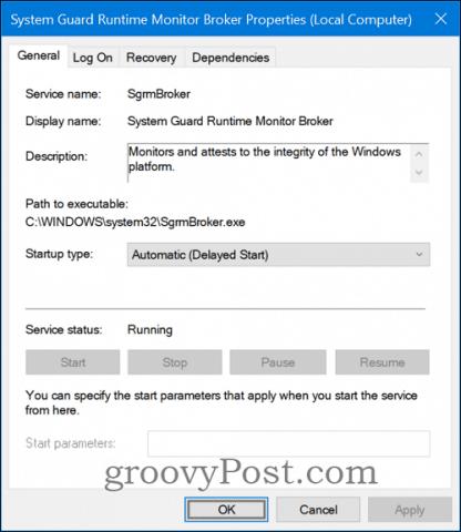 System Guard Runtime Monitor Broker (SgrmBroker) Details