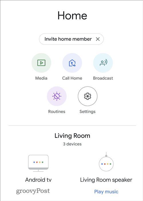 Google Home sound equalizer