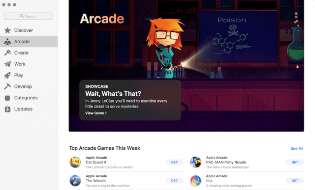 Apple Arcade on Mac
