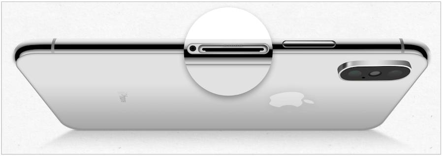 iPhone SIM tray open