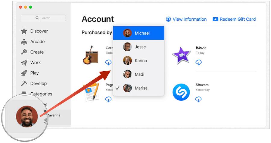 Mac App Sharing