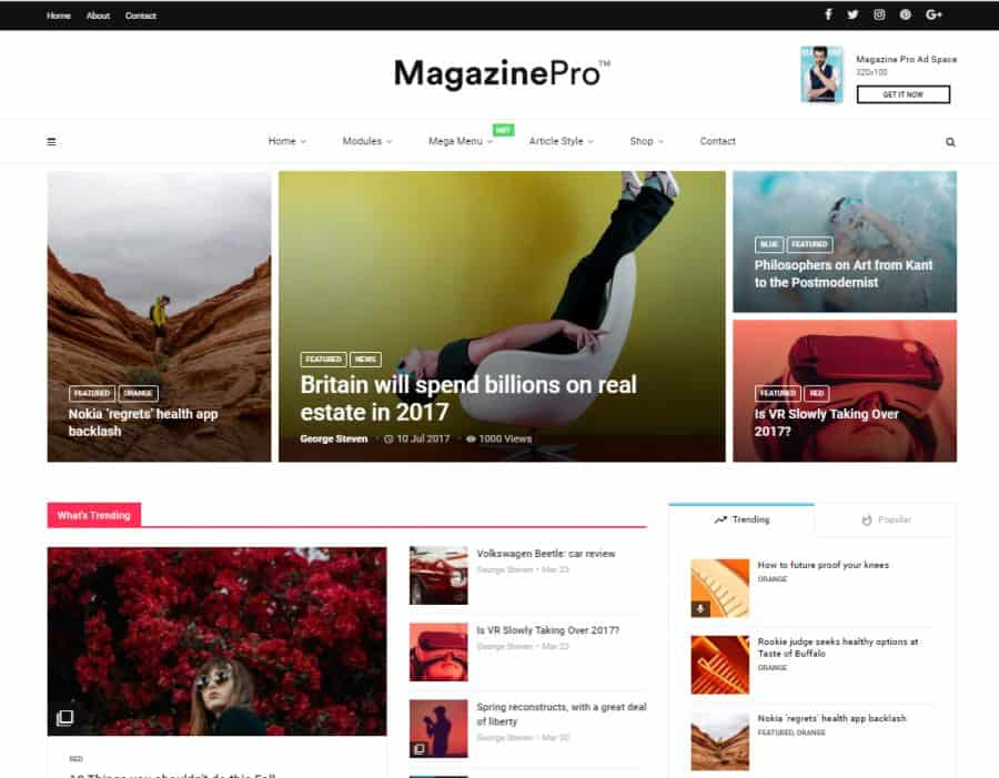 magplus wordpress theme