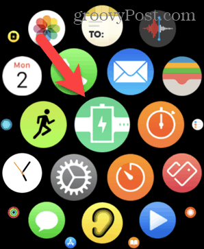 Honeycomb grid on Apple Watch