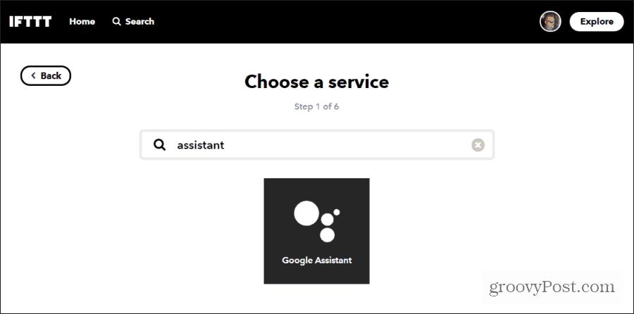 choosing google assistant
