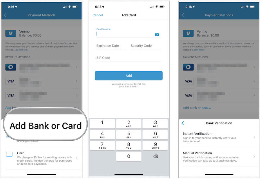 create venmo account for business