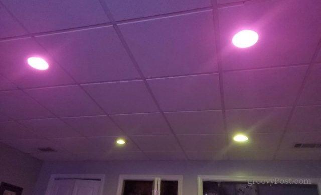 hue lighting synced