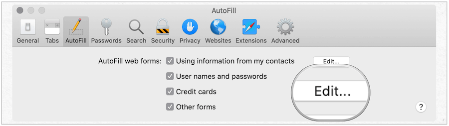 Mac credit card