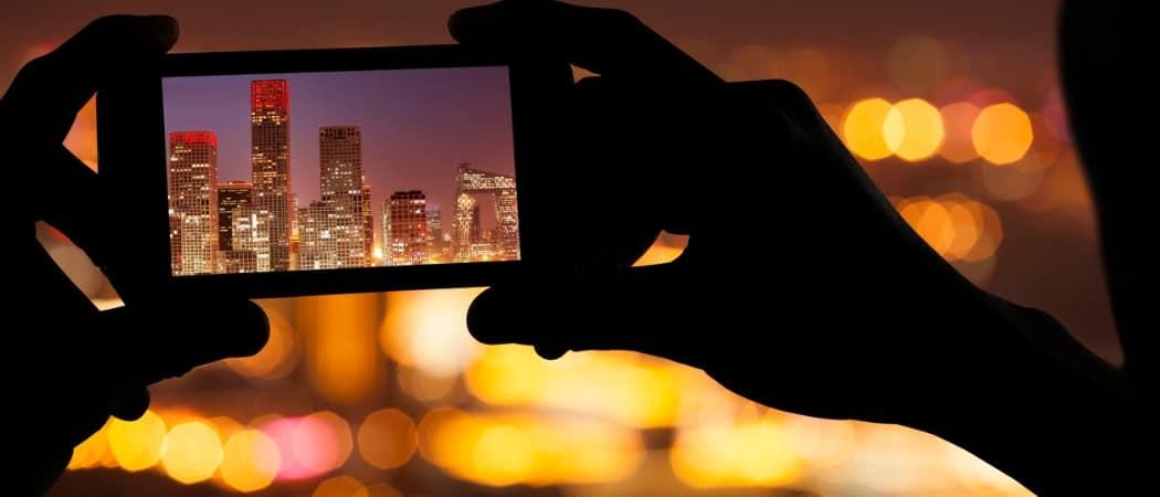 Cómo ajustar la duración de la exposición en el modo nocturno en el iPhone 11 Pro