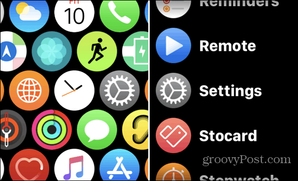 Reduce Motion off on Apple Watch