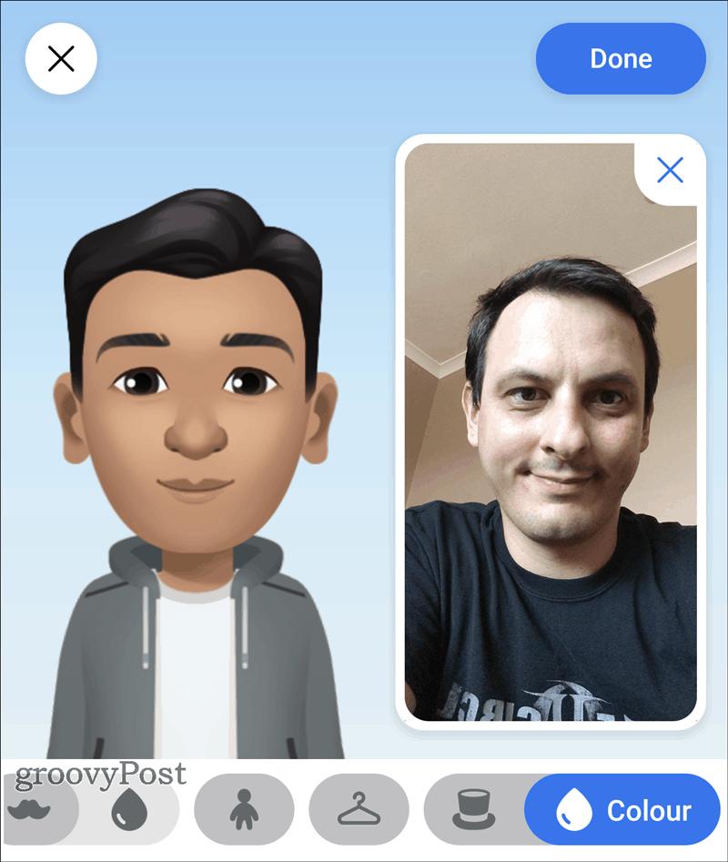 Facebook Avatar created