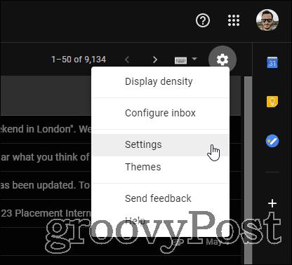 Gmail Multiple Signatures settings