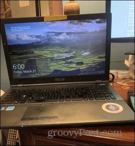 my windows 10 laptop