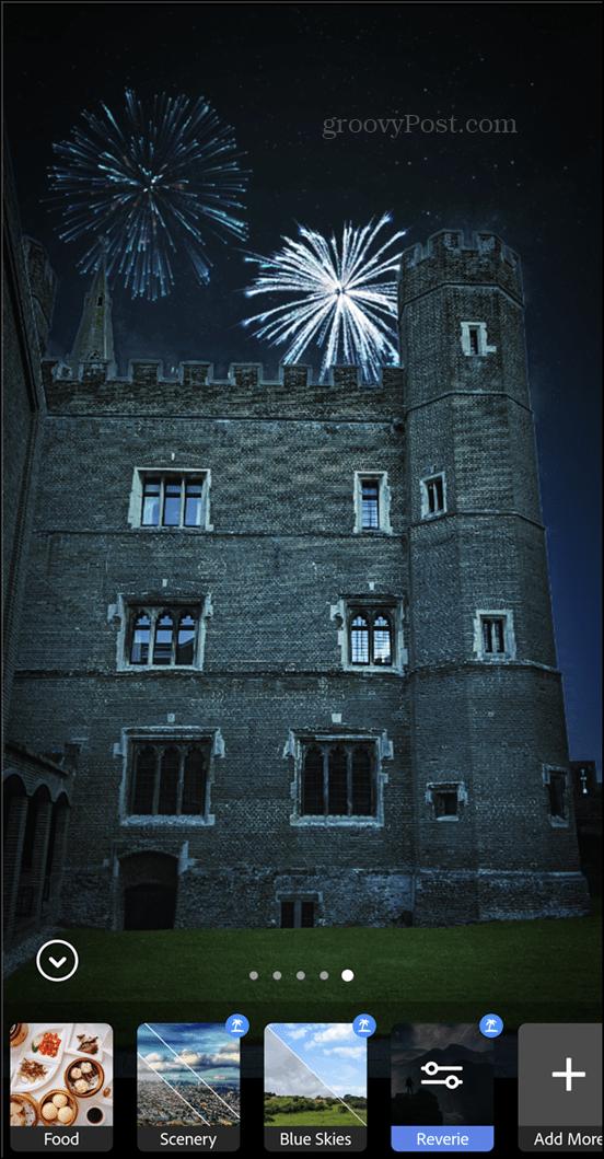 Adobe Photoshop Camera fireworks