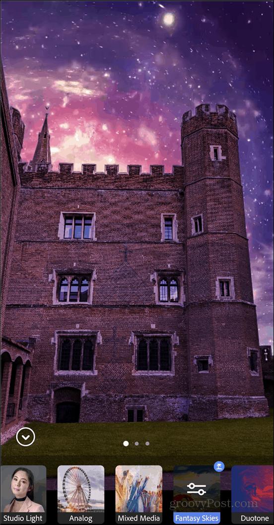 Adobe Photoshop Camera sky