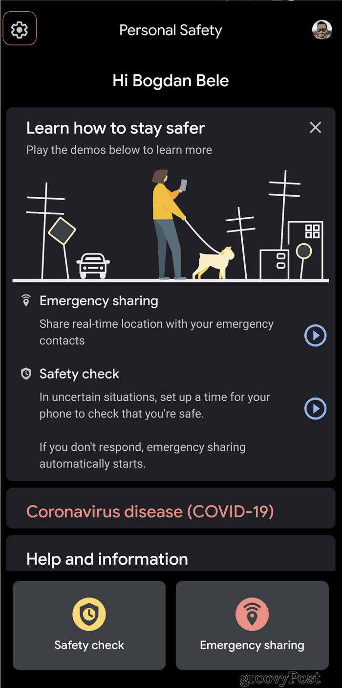 Pixel Security Check settings