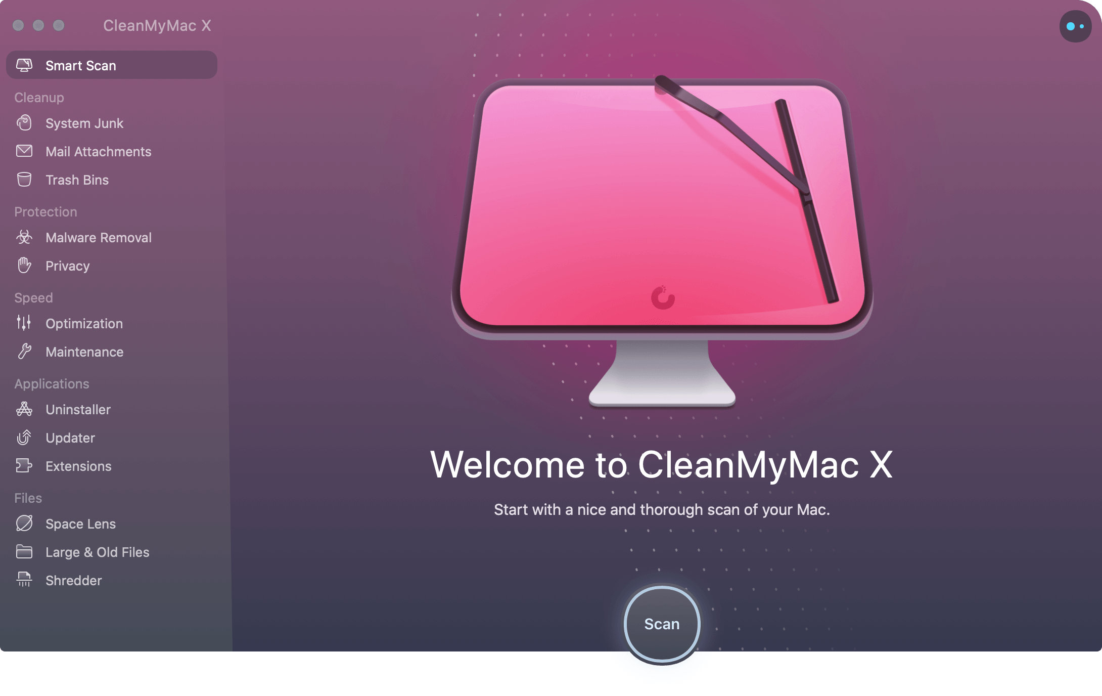 CleanMyMac X front