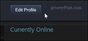 Editing a Steam profile