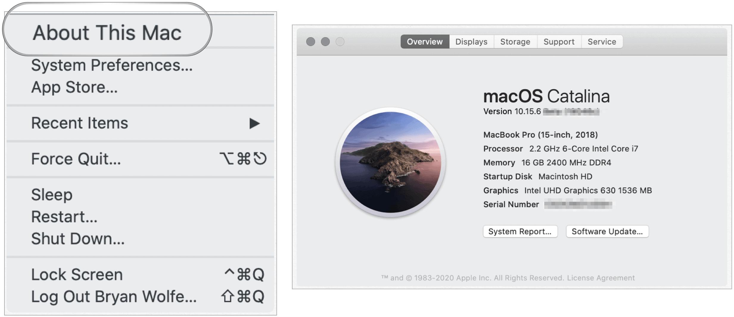 Find Mac version