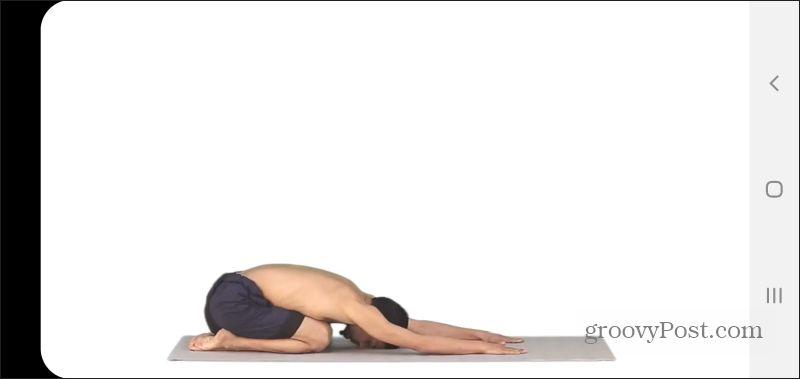 track yoga video