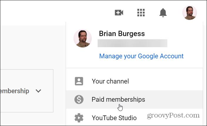 Paid Memberships