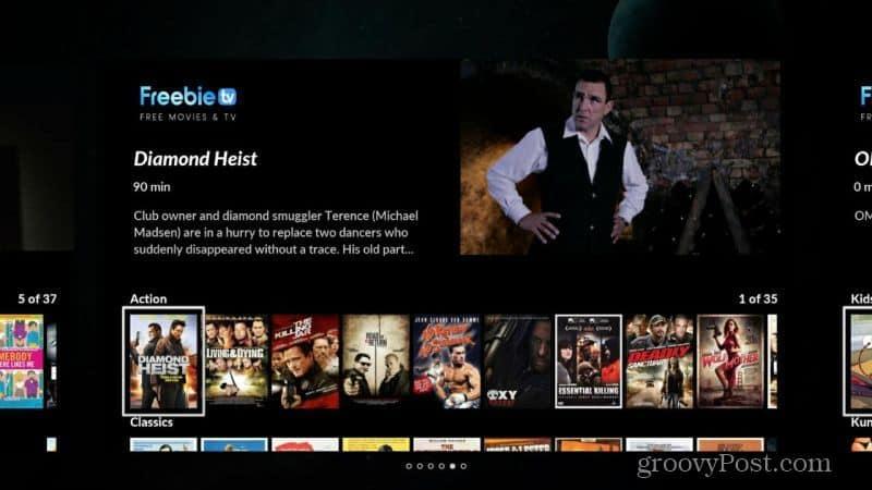 Freebie TV channel
