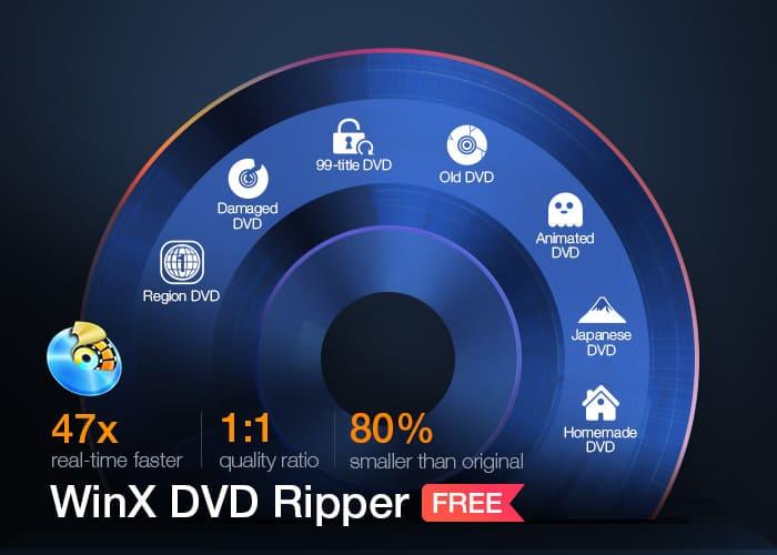 winxdvd free dvd ripper