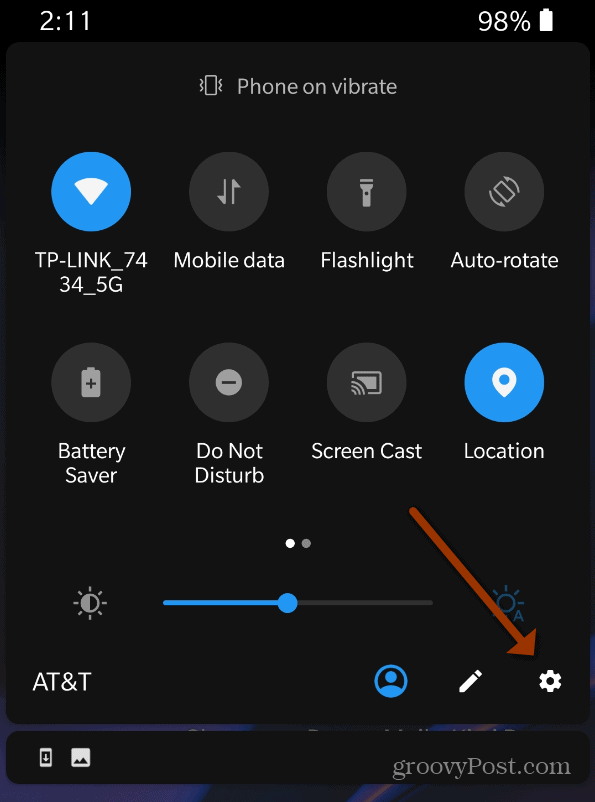 24 hour clock android settings