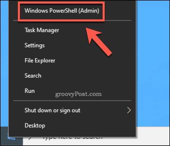 Windows Start Launch PowerShell