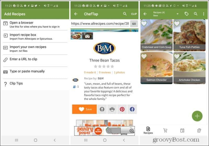 cheftap mobile app