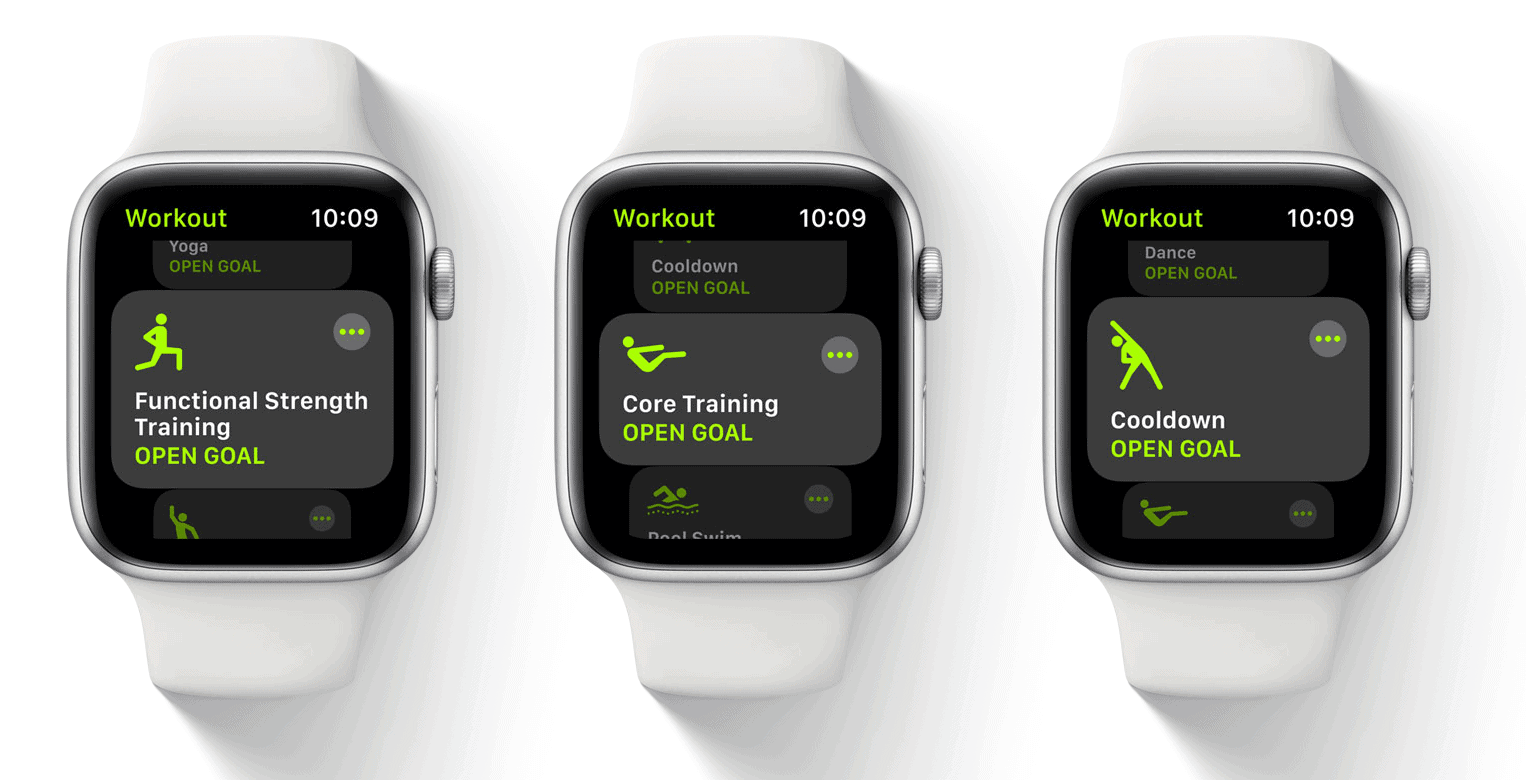 watchOS 7 new exercises