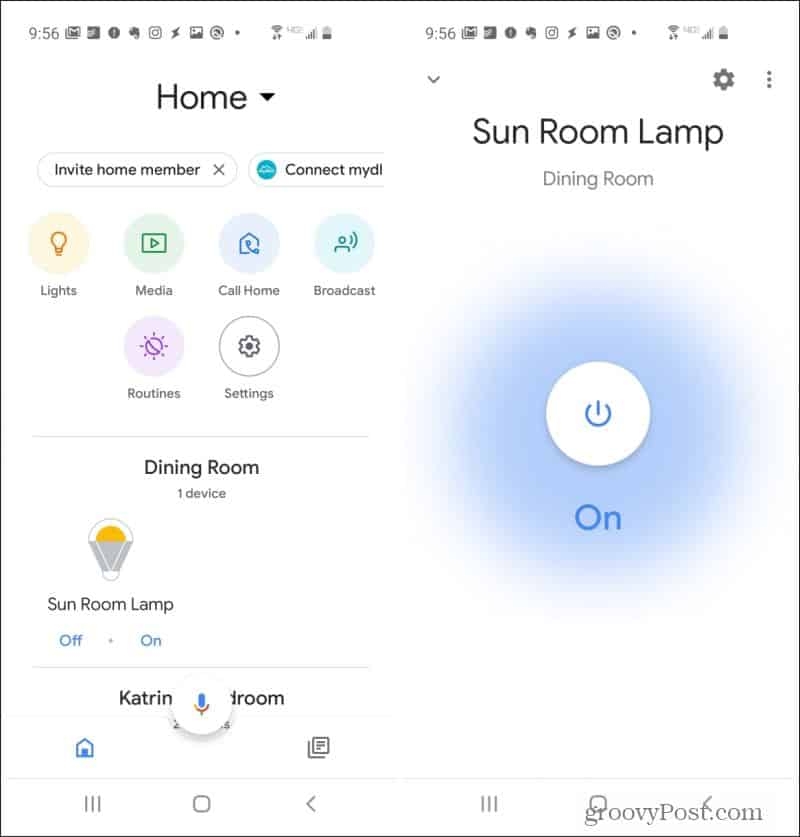 wemo plug in google home