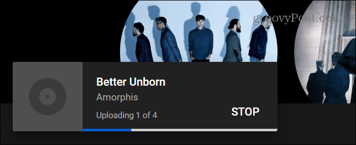 music uploading