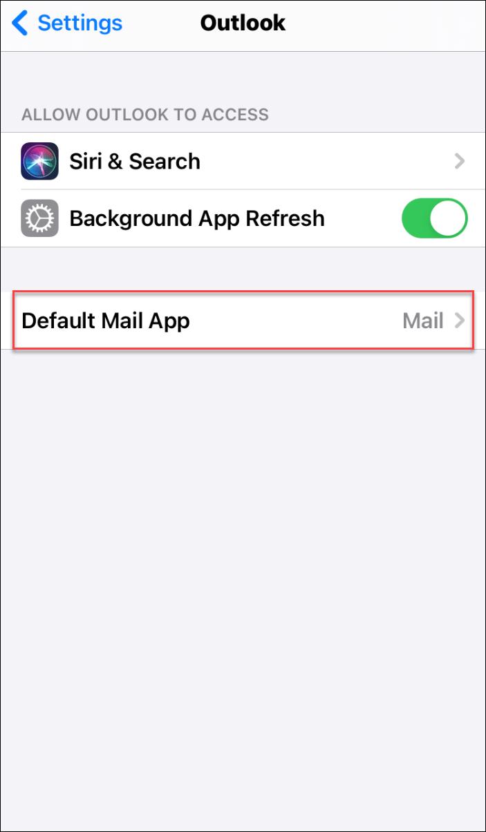 choose default email client