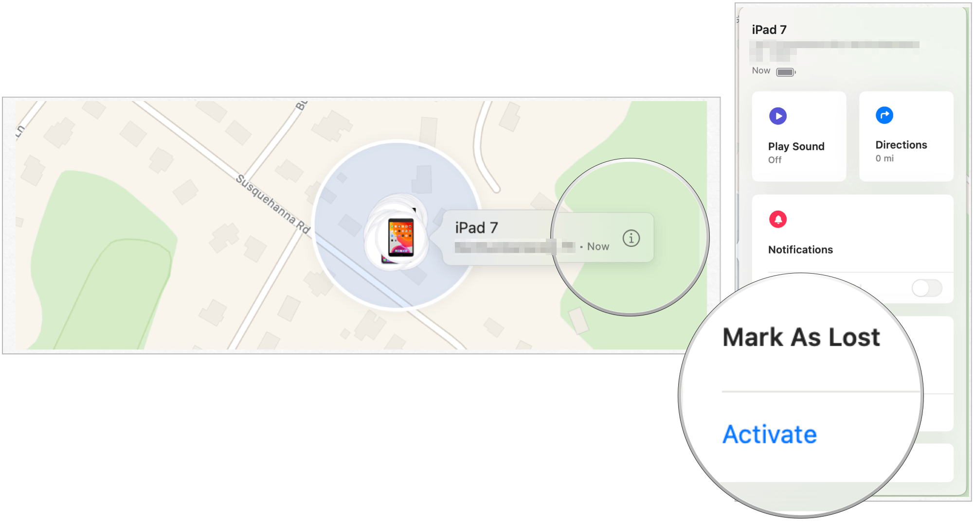 Find My mac delete device