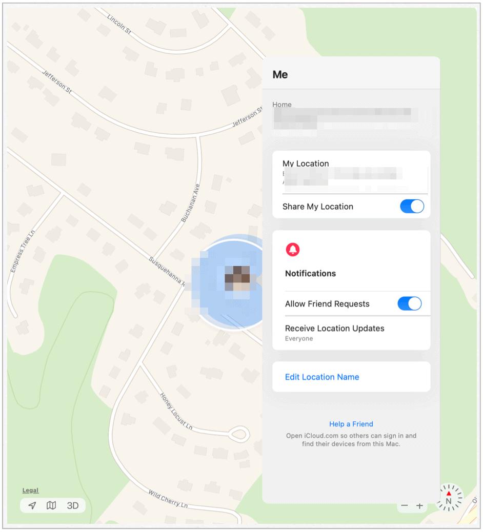 Find My Mac me
