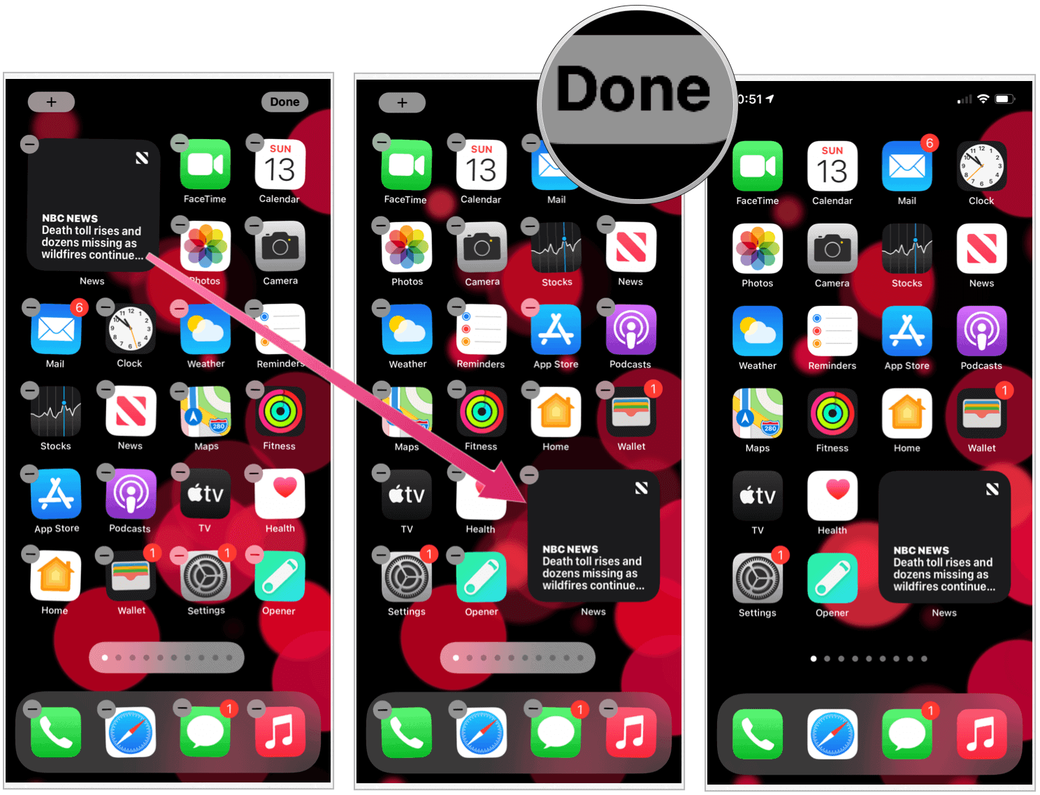 iOS 14 create widget