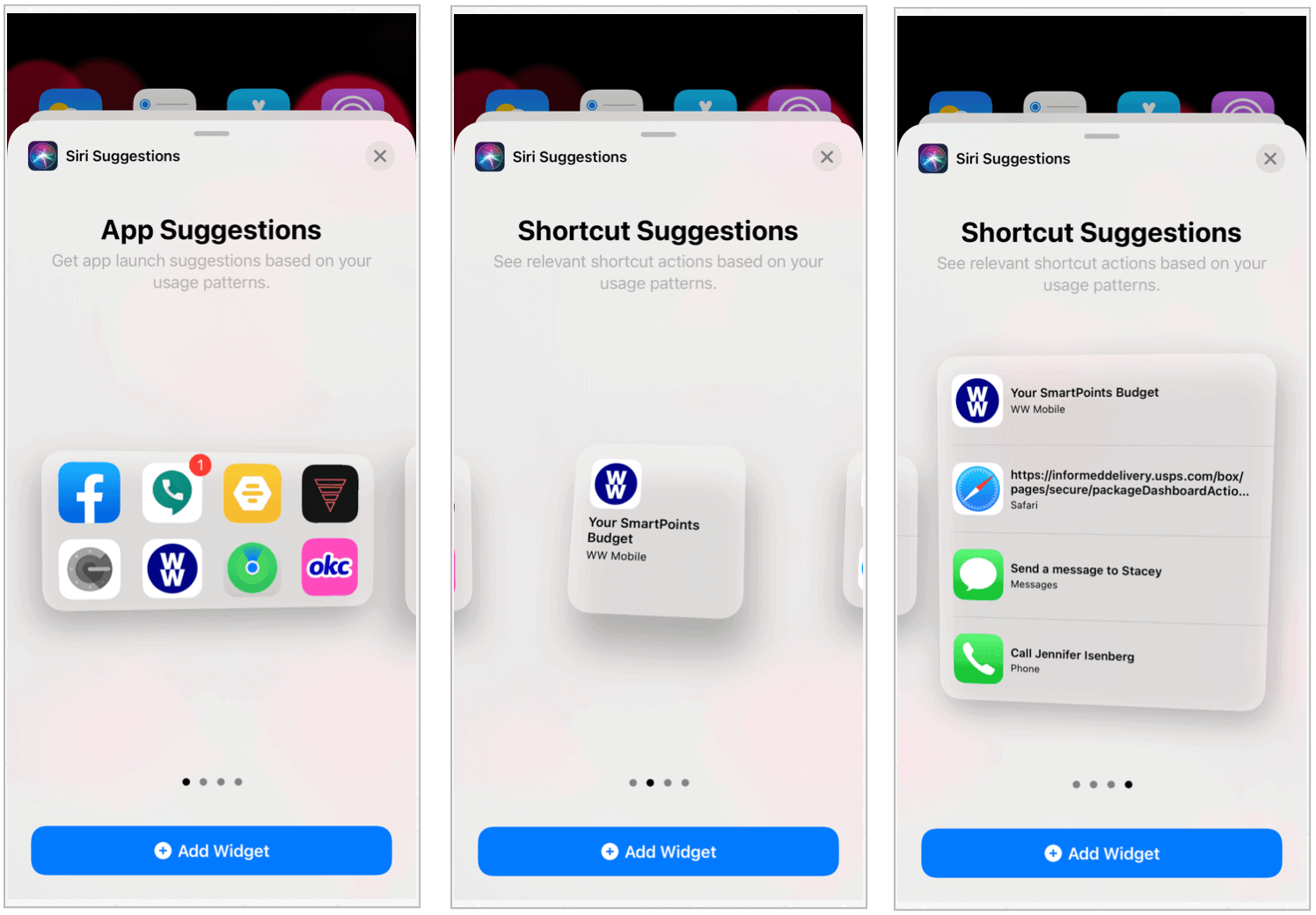 iOS 14 siri suggestions