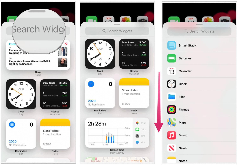 iOS 14 widgets setup