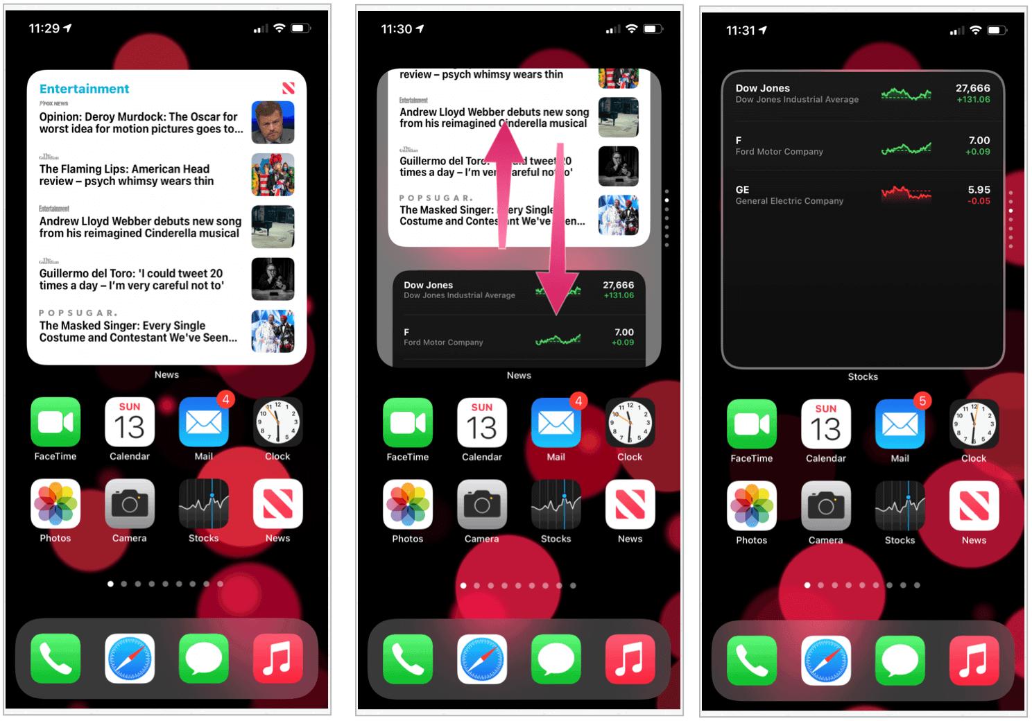 iOS smart stack