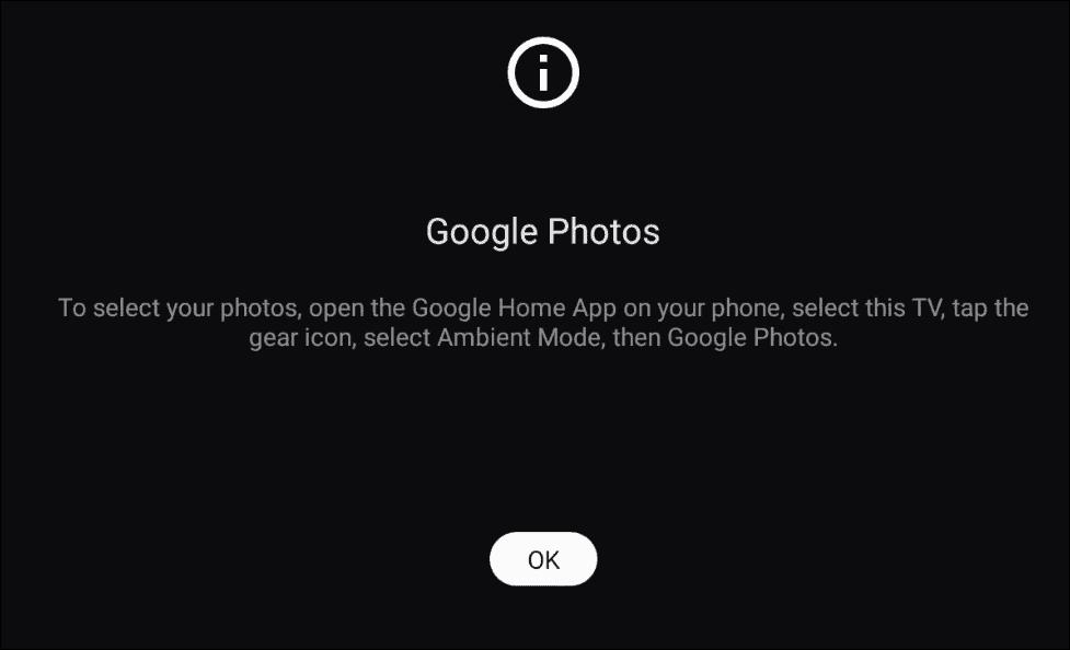Google Photos Home app