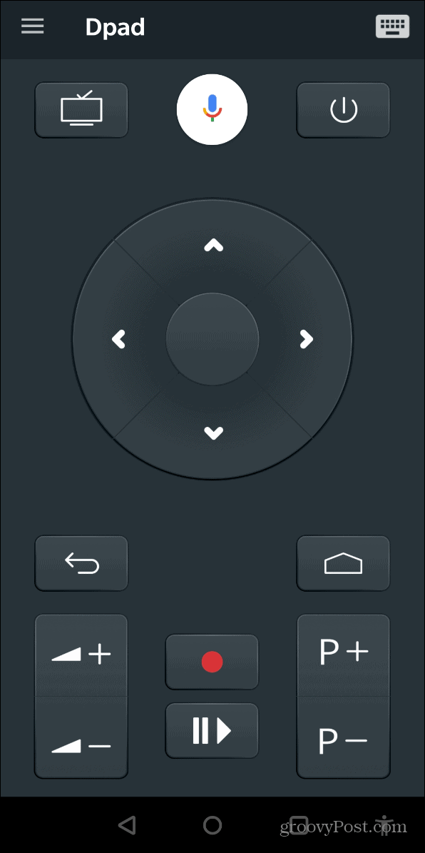 Remote Android TV