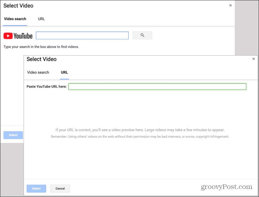 Video Feedback on Google Forms