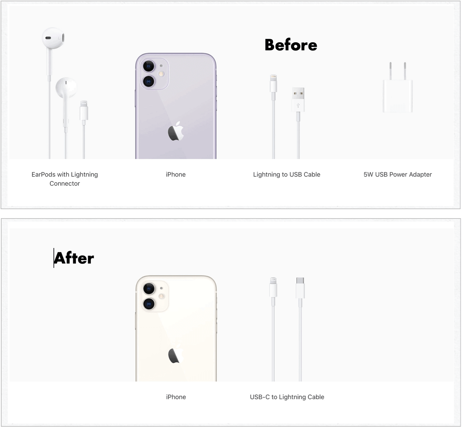 iPhone 11 charging options